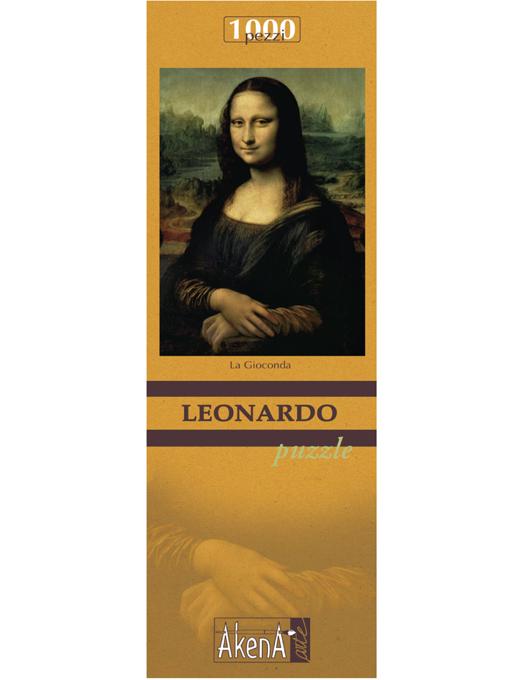 PUZZLE 1.000 PCS La Gioconda - Leonardo 29,6x41.5-519