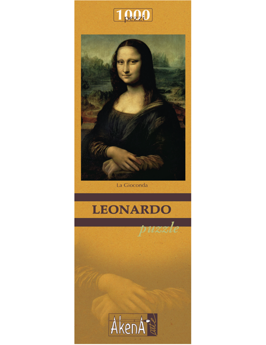 PUZZLE 1.000 PCS La Gioconda - Leonardo 29,6x41.5-1091