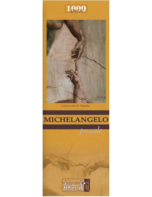 PUZZLE 1.000 PCS Creazione di Adamo - Michelangelo 29,6x41.5-0