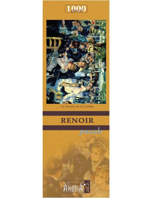 PUZZLE 1.000 PCS Le Moulin de la Galette - Renoir 29,6x41.5-0