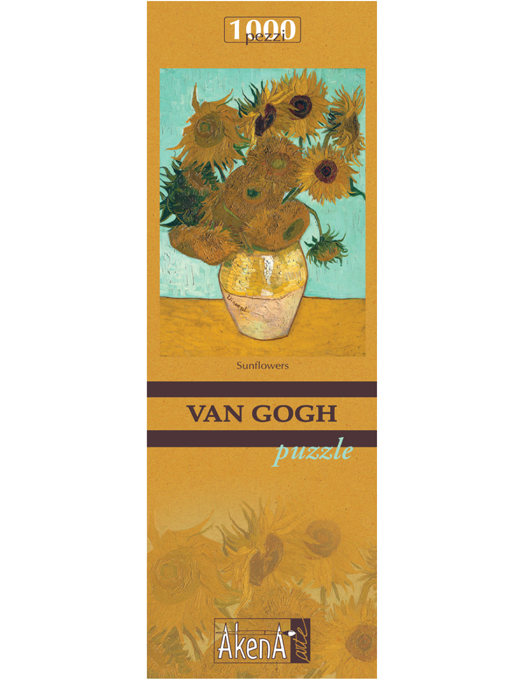 PUZZLE 1.000 PCS Sunflowers - Van Gogh 29,6x41.5-0