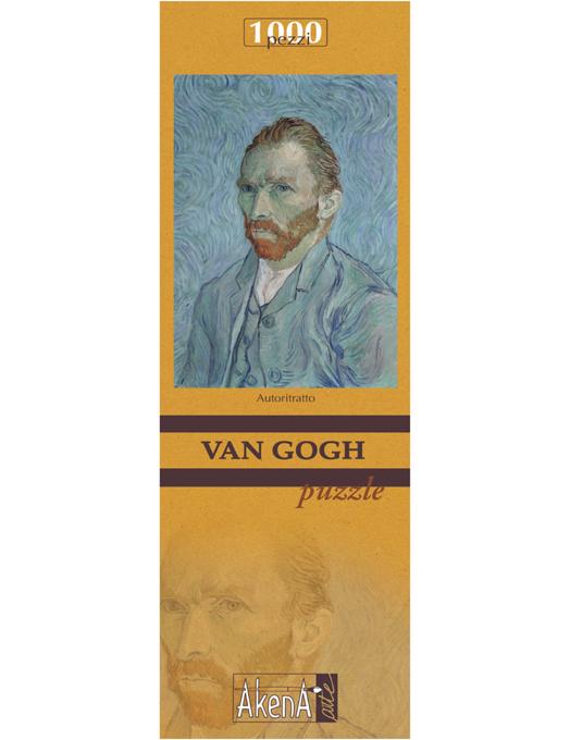 PUZZLE 1.000 PCS Autoritratto - Van Gogh 29,6x41.5-0