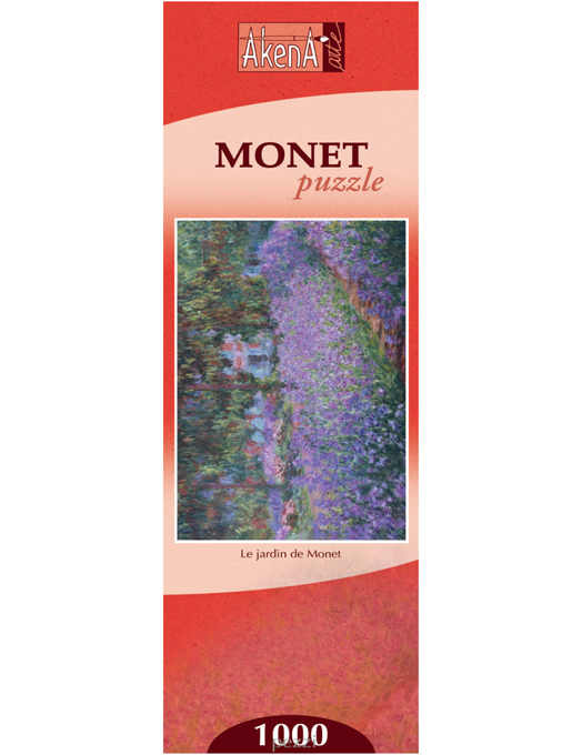 Le Jardin - Monet puzzle 1000 pezzi (tessere tradizionali)-0