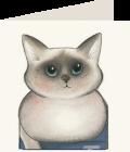 Chiudipacco Gatteria - Blue eyes-0