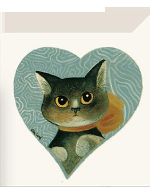 Chiudipacco Gatteria - Green heart-0