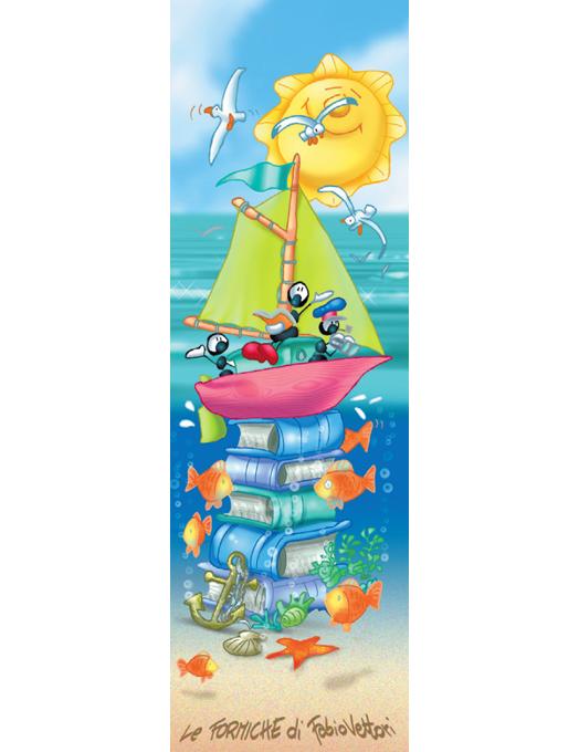 Segnalibro Formiche - Summer sea-0