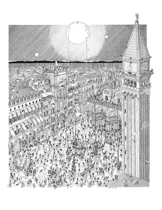 Carnevale di Venezia puzzle 1080 pezzi-0
