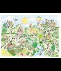 PAESE DELLA MUSICA puzzle 50X70-0