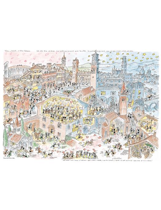 ROMEO & GIULIETTA puzzle 50x70 col.-0
