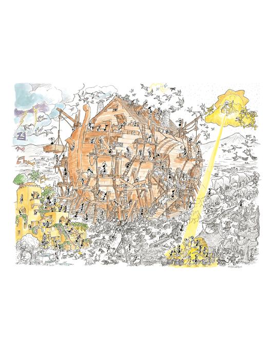 ARCA DI NOE puzzle 50x70 col.-0