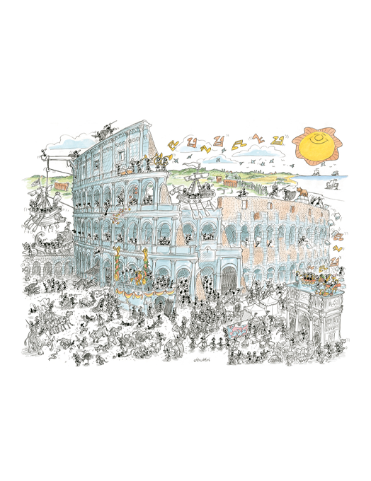 COLOSSEO puzzle 50x70 col.-0