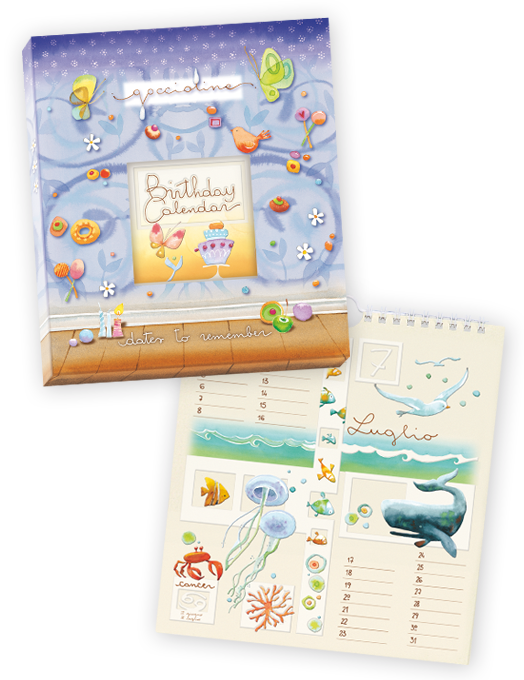 Calendario compleanni Sweet days-0