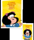 BIGLIETTO METALIZZATO MAFALDA-0