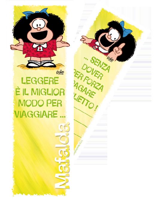 Segnalibro Mafalda - Limone-0