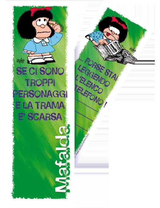 Segnalibro Mafalda - Verde-0