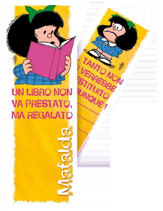 Segnalibro Mafalda - Libro-0