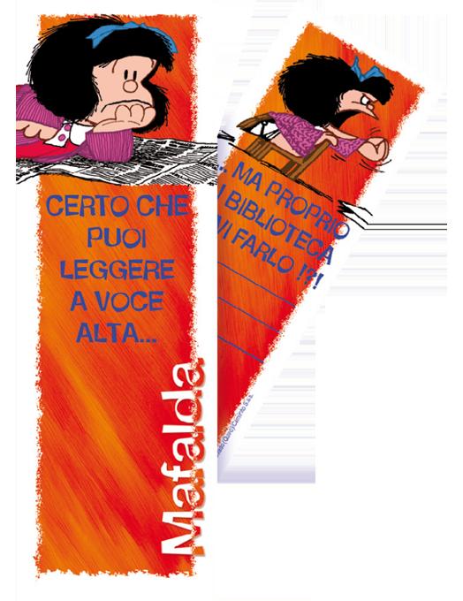 Segnalibro Mafalda - Rosso-0