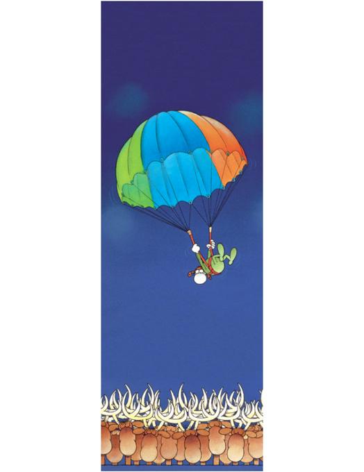 Segnalibro Mordillo - Paracadute-0