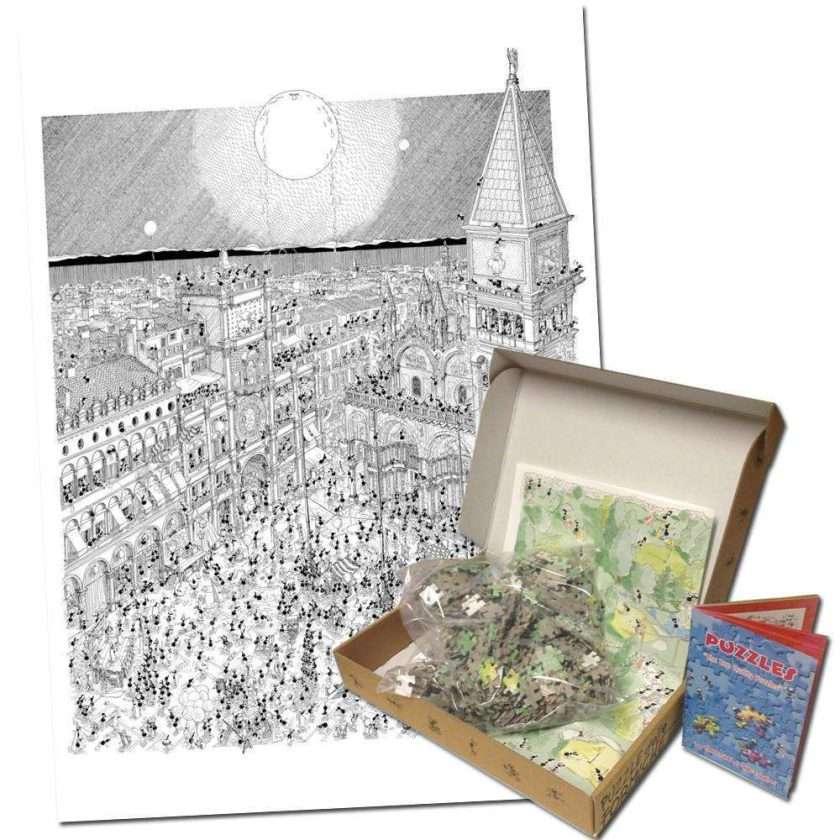 Carnevale di Venezia, puzzle di 1080 pezzi