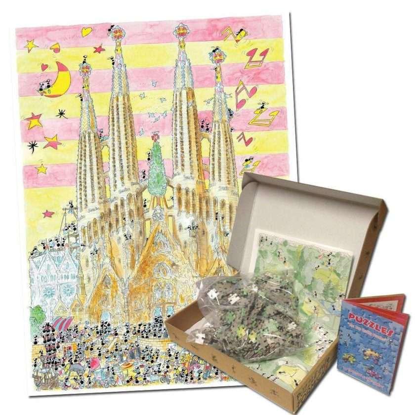 Puzzle 1080 pezzi La Sagrada Familia - Le formiche di Fabio Vettori
