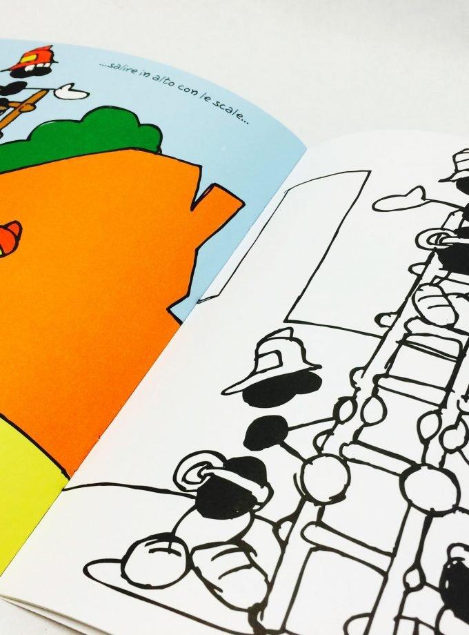 Album da colorare Pompieri - Le Formiche-0