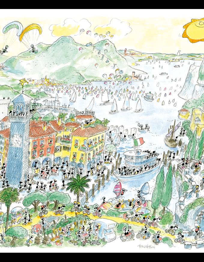 Puzzle • Lago di Garda • Le Formiche di Fabio Vettori
