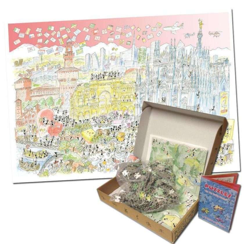 Milano Puzzle 1080 pezzi Le Formiche di Fabio Vettori 50 x 70 cm