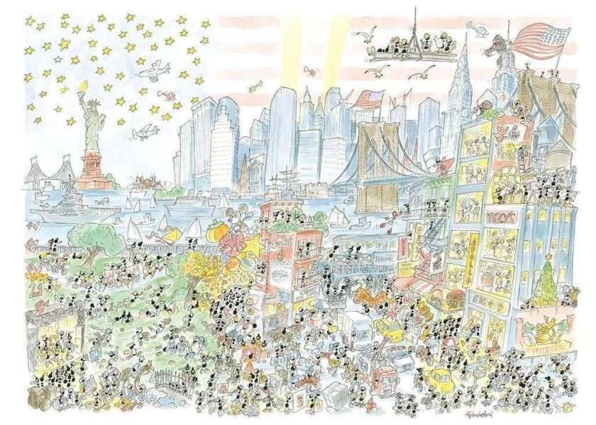 Puzzle New York city 1080 pezzi