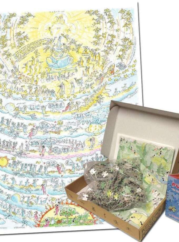 Puzzle Divina Commedia - Paradiso - 1080 pezzi Le Formiche di Fabio Vettori