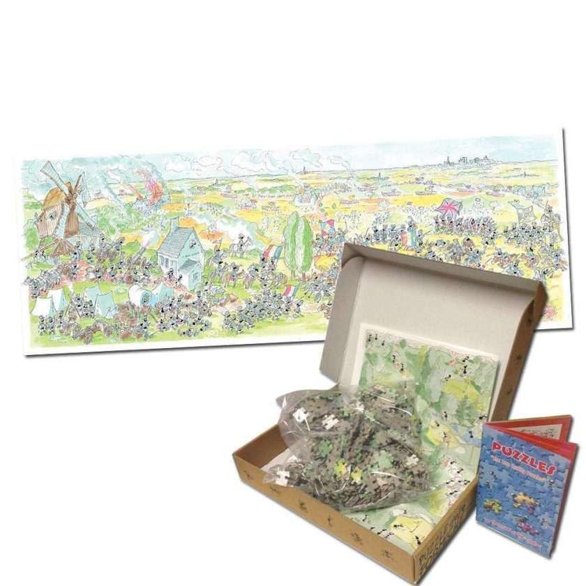 Puzzle Battaglia di Waterloo 1080 pezzi