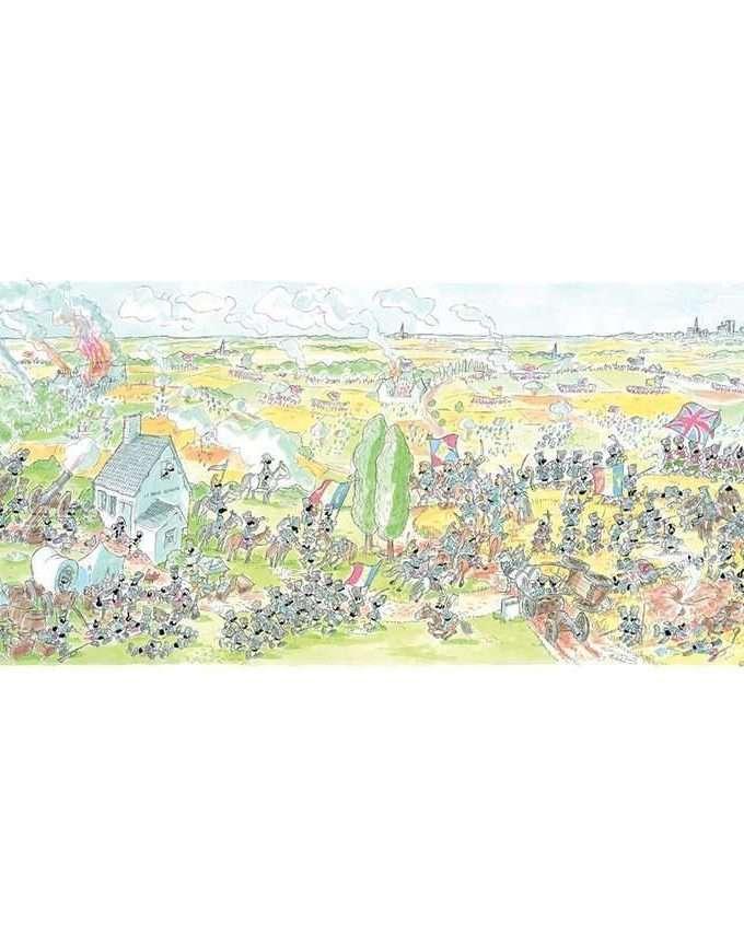 Puzzle • Battaglia di Waterloo • 1080 pz • Le Formiche di Fabio Vettori