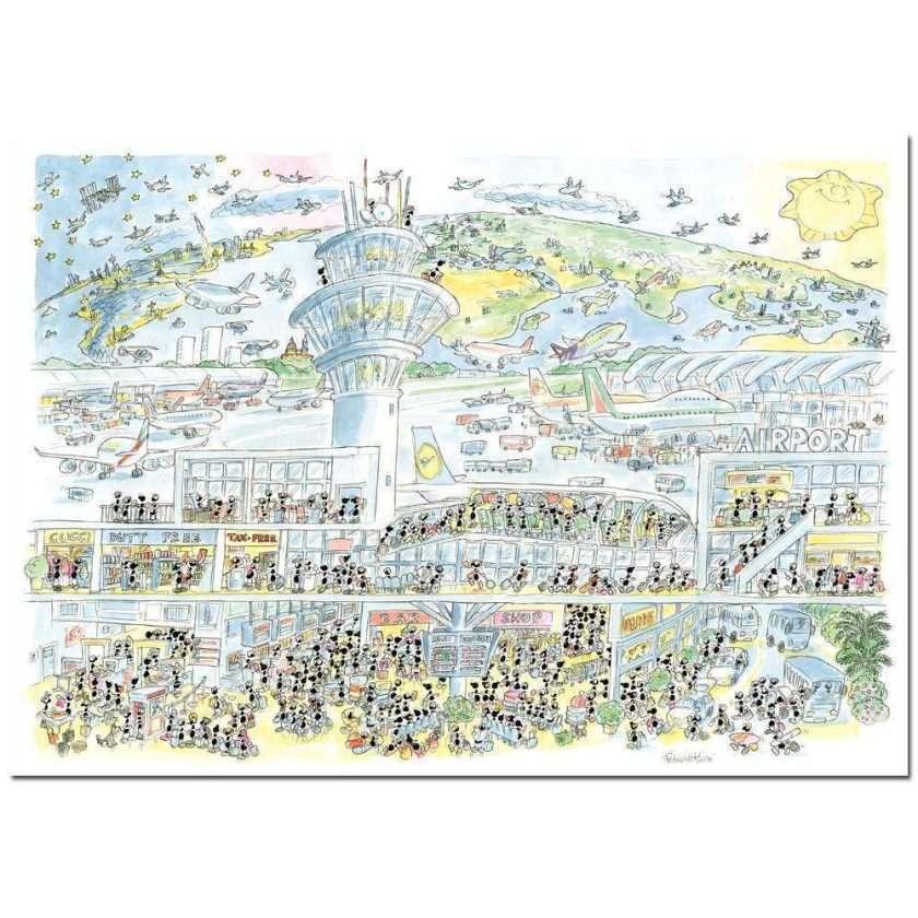 Puzzle Aeroporto 1080 pezzi