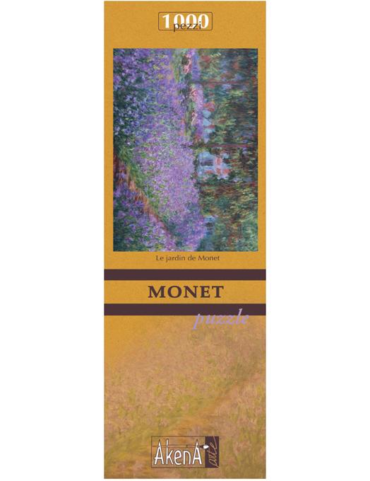 Le Jardin - Monet puzzle 1000 pezzi (micro tessere)-0