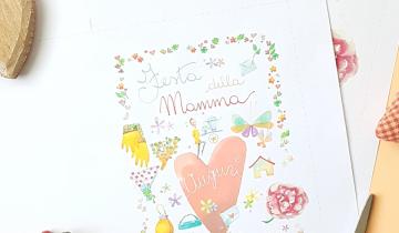 Festa della Mamma: un free printable per dirle 'Ti voglio bene'