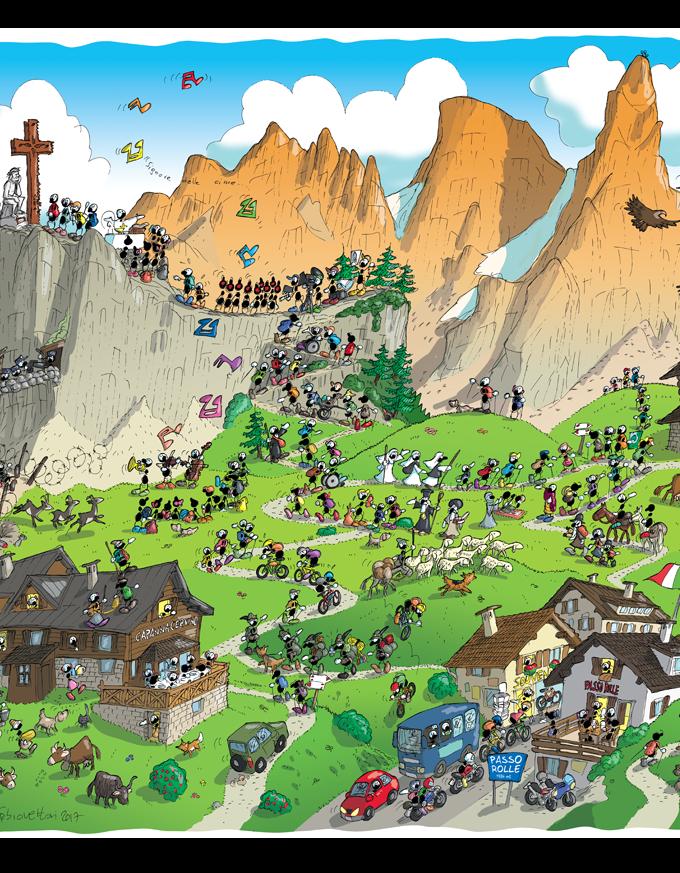 Puzzle • Trekking Passo Rolle • Le Formiche di Fabio Vettori