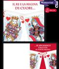 Biglietto matrimonio con musica - Il re e la regina di cuori