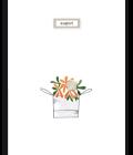 Vaso di fiori arancioni-0