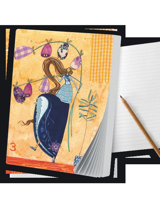 Primavera - Quaderno A6-0