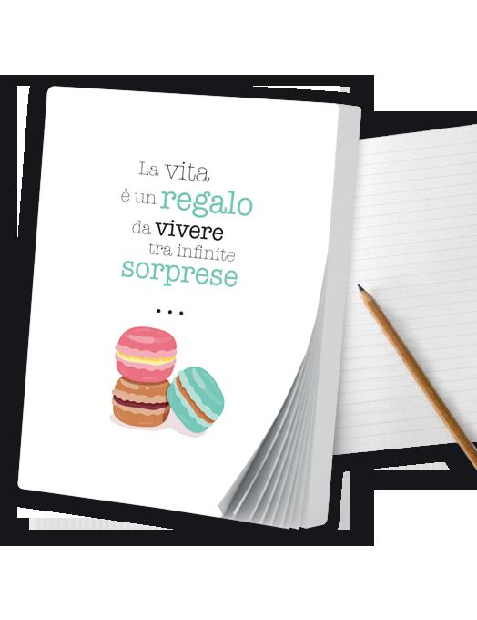 Macarons - Quaderno A6-0
