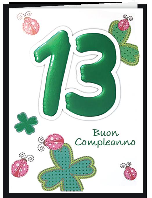 Buon compleanno 13-0