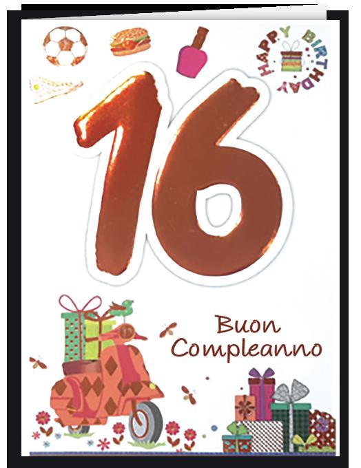 Buon compleanno 16-0