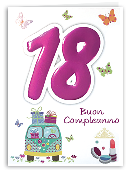 Buon compleanno 18 - girl-0