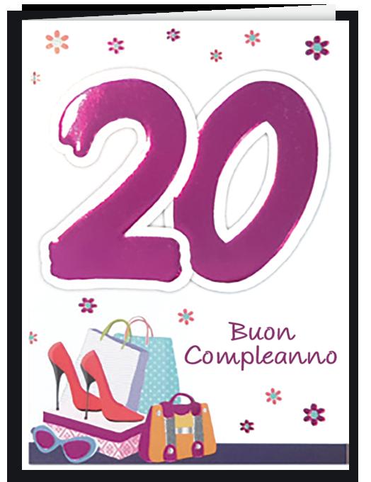 Buon compleanno 20 - girl-0