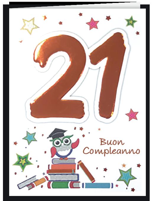 Buon compleanno 21-0