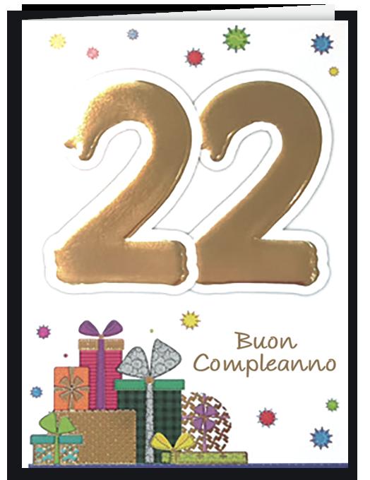 Buon compleanno 22-0