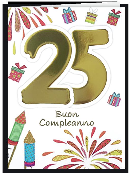 Buon compleanno 25-0