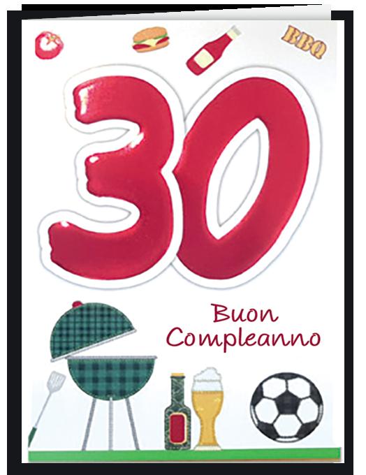 Buon compleanno 30-0