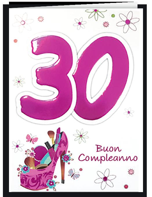 Buon compleanno 30 - per lei-0