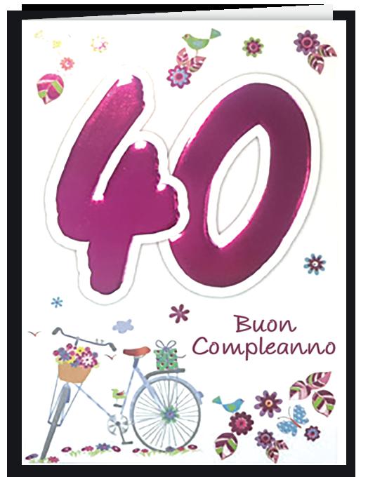 Buon compleanno 40 - per lei-0