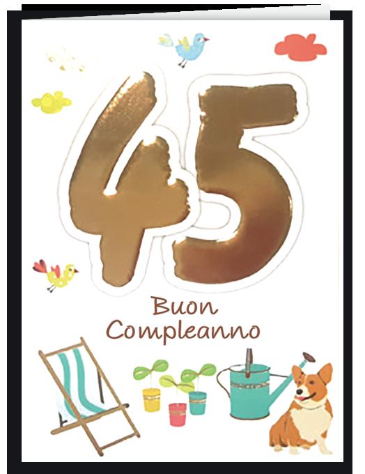 Buon compleanno 45-0